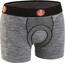 FOR.BICY Urban Life Boxershorts with Pad Men Grey Melange/Black